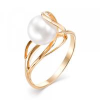 Золотое кольцо с жемчугом ФЖ31366.1