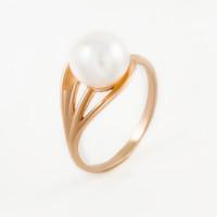Золотое кольцо с жемчугом ФЖ21021.1