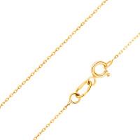 Золотая цепочка ЖН710251137-01 якорное плетение
