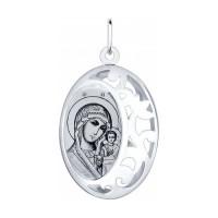 Серебряная иконка ДИ94100237
