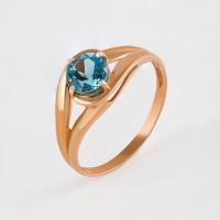 Золотое кольцо с ситалом ДП314206