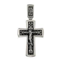 Серебряный крест ДИ95120006