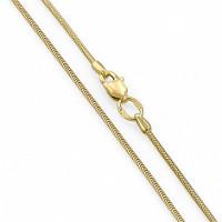 Золотая цепочка ЛД4101039105390 плетение Снейк