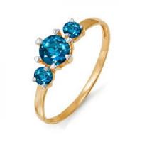 Золотое кольцо с ситалом ДП311507