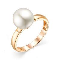 Золотое кольцо с жемчугом НА3.10.10.0245.00-3024