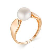 Золотое кольцо с жемчугом НА3.10.10.0245.14-2705