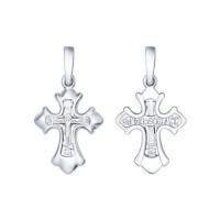 Серебряный крест ДИ94120147