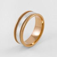 Золотое кольцо обручальное 7ВЗЛ0901