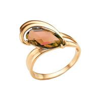 Золотое кольцо с ситаллами султанитами НА1.10.10.0669.06-2155