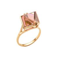 Золотое кольцо с ситаллами султанитами НА1.10.10.0669.00-2223