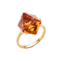 Золотое кольцо с ситаллами султанитами НА1.10.10.0669.00-3304
