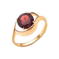Золотое кольцо с гранатами НА1.10.10.0226.00-1949