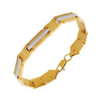 Золотой браслет мужской ПЗА023050