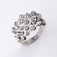 Серебряное кольцо ВПК39