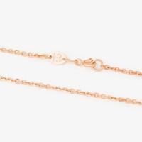 Золотая цепочка 2ДЦ105002ПлО якорное плетение