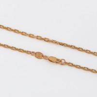 Золотая цепочка 2ДЦ108022ПлО якорное плетение