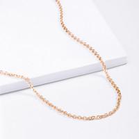 Золотая цепочка 2ДЦ105002 якорное плетение