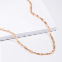 Золотая цепочка 5В8040051 плетение Сингапур