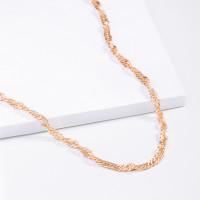 Золотая цепочка 5В8050051 плетение Сингапур