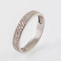 Серебряное кольцо с фианитами РЫ1758441С