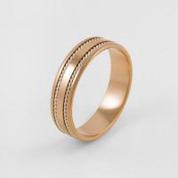 Золотое кольцо обручальное 7ВЗТ4205