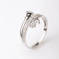 Серебряное кольцо с фианитами ЯВ82932С