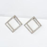 Серебряные серьги с фианитами ЯВ83912С