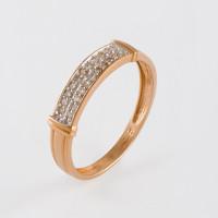 Золотое кольцо с бриллиантами ХС050059521
