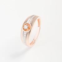 Золотое кольцо с бриллиантами ИМК0189-120