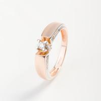 Золотое кольцо с бриллиантами ИМК0280-120