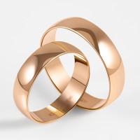 Золотое кольцо обручальное ПЗ17005