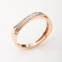 Золотое кольцо с бриллиантами ХС050075521