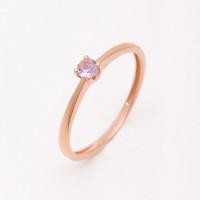 Золотое кольцо с ситаллом танзанитом НЮ09440101010000321