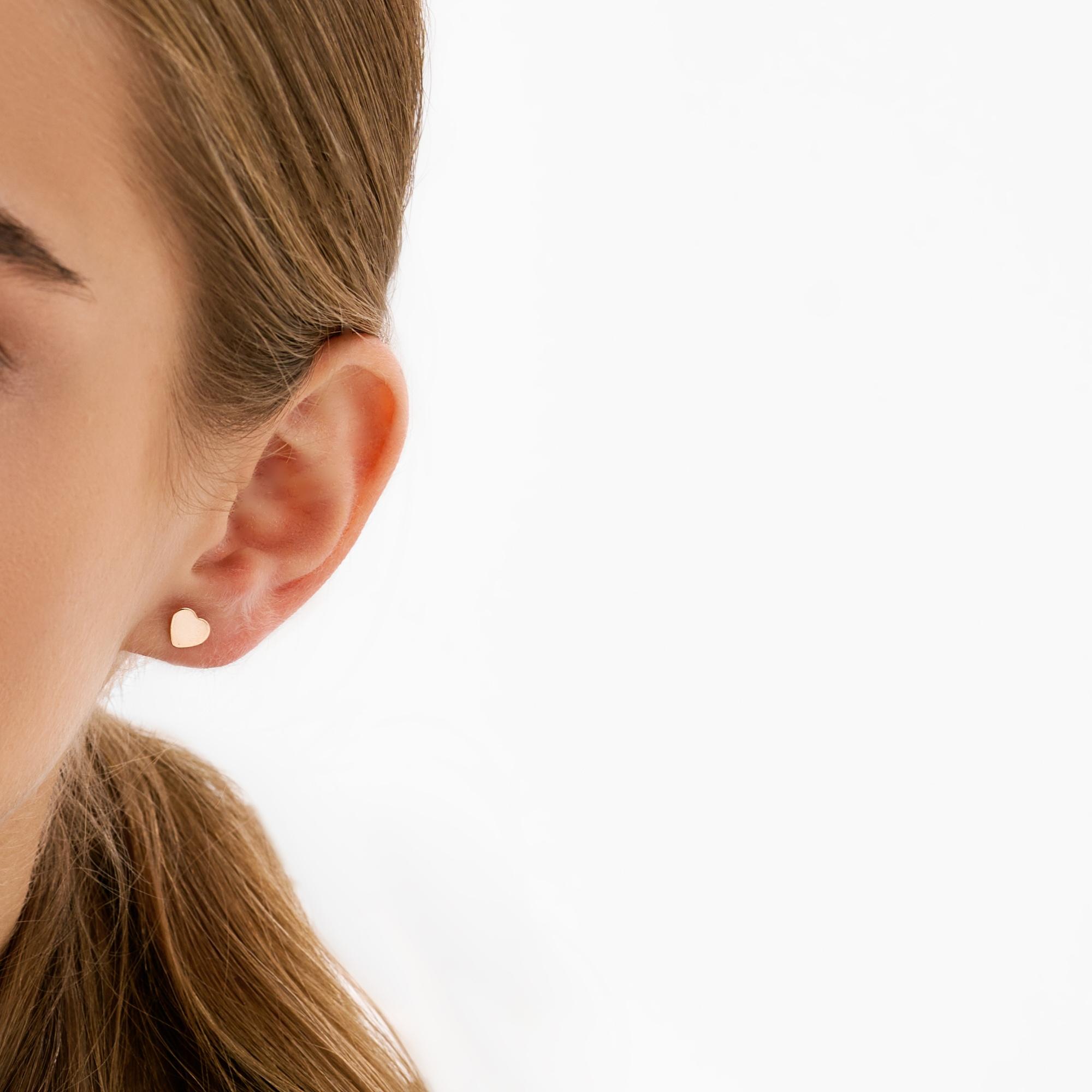 Золотые серьги гвоздики РЫ2780099