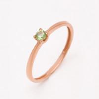 Золотое кольцо с ситаллом диопсидом НЮ09440101010002460