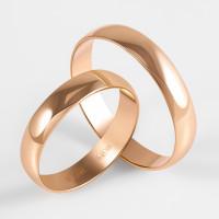 Золотое кольцо обручальное ПЗ17004