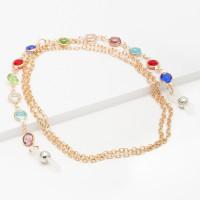 Бижутерная цепочка с ювелирным стеклом 9Ы700200270-4
