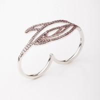 Серебряное кольцо с фианитами ВПК81КЛ