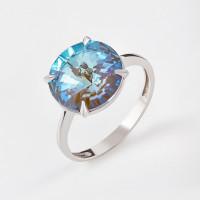 Серебряное кольцо с кристаллами сваровски Ф1К002пЛ130Д