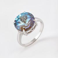Серебряное кольцо с кристаллами сваровски Ф1К0042Л130Дп