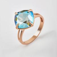 Серебряное кольцо с кристаллами сваровски Ф1К017з360СХИМ