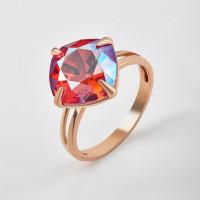 Серебряное кольцо с кристаллами сваровски Ф1К017з227СХИМ