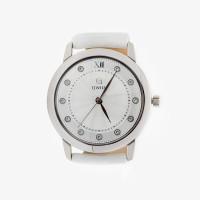 Серебряные часы с фианитами КИ6059.01.04.9.26A