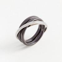 Серебряное кольцо с керамикой СЫ0101792Б209