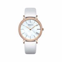 Золотые часы с фианитами ДИ210.01.00.001.02.02.2