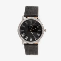 Серебряные часы с фианитами