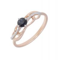 Золотое кольцо с сапфиром ЛХ1-565к