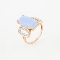 Золотое кольцо с кварцем АА1348180