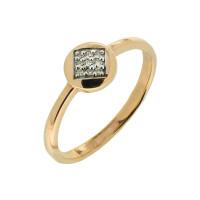 Золотое кольцо с бриллиантами ЮЫ2002100022840