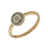 Золотое кольцо с бриллиантами ЮЫ2002100022843